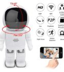 Camara HD Ip Mini Robot Wifi