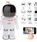 Camara HD Ip Mini Robot Wifi