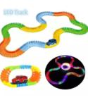 Pista Luminosa Flexible Magic Ligtht Trax 221piezas 1 Carro