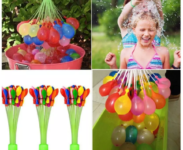 Recargador Bomba Agua Magic Water Balloons 3 Pcs