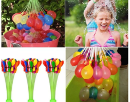 Recargador Bomba Agua Magic Water Balloons 3 Pcs