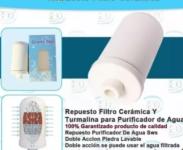 Repuesto Filtro Ceramica Y Turmalina Purificador De Agua