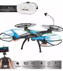 Drone Con Camara Wifi + Gafas Vr Ciber Helix