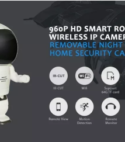 Camara Seguridad Y Vigilancia Hd Ip Mini Robot / Wifi.