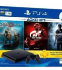 Consola Playstation 4 Slim 1tb + 3 Juegos + 3 Meses Ps Plus