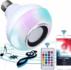 Bombillo Parlante Con Bluetooth Multicolores