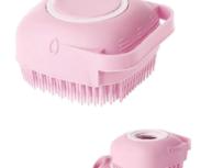 Cepillo Corporal Baño Silicona Suave Con Dispensador