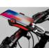 Linterna Bicicleta 4 En 1 (pito, Holder, Power Bank, Luz)